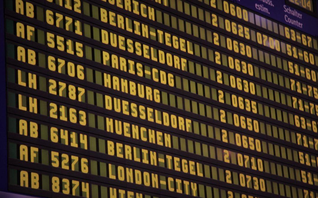 Transporte aéreo: reclamación por incidencias que afectan a los pasajeros